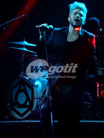 Adam Lambert 02-MAY-2016 @ Gasometer, Vienna, Austria © Thomas Zeidler