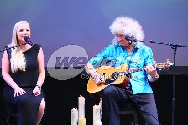 Brian May & Kerry Ellis 15-JUL-2013 @  Wörtherseebühne, Klagenfurt, Austria © Thomas Zeidler