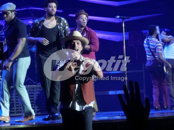 Bruno Mars 24-OCT-2013 @  Stadthalle, Vienna, Austria © Thomas Zeidler