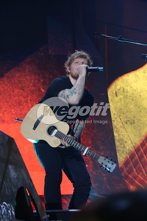 Ed Sheeran 20-MAR-2017 @ Olympiahalle, Munich, Germany © Thomas Zeidler