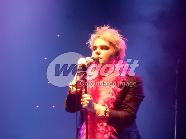 Gerard Way 16-JAN-2014 @ Sala Apolo, Barcelona, Spain © Thomas Zeidler
