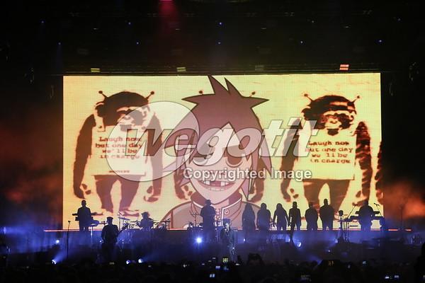 Gorillaz 02-NOV-2017 @ Stadthalle, Vienna, Austria © Thomas Zeidler