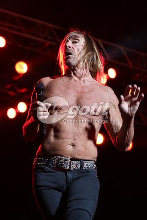Iggy Pop 28-MAY-2016 @ RockAvaria Festival, Olypiastadion, Munich, Germany © Thomas Zeidler