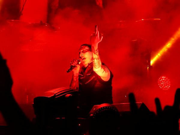 Marilyn Manson 11-AUG-2014 @ Arena, Vienna, Austria © Thomas Zeidler