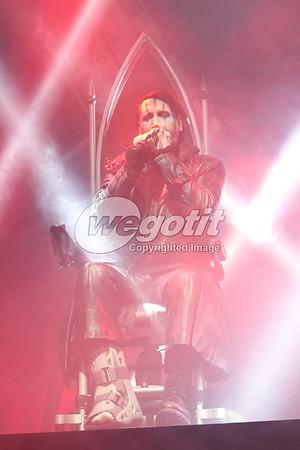 Marilyn Manson 20-NOV2017 @ Gasometer, Vienna, Austria © Thomas Zeidler