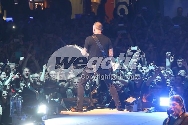 Metallica 31-MAR-2018 @ Stadthalle, Vienna, Austria © Thomas Zeidler
