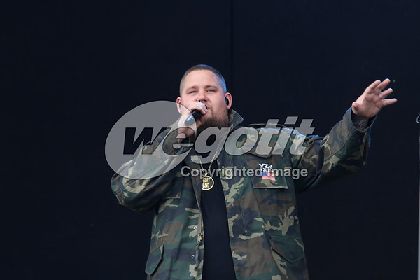 Rag 'N' Bone Man 17-JUN-2017 @ Nova Rock Festival, Nickelsdorf Austria © Thomas Zeidler