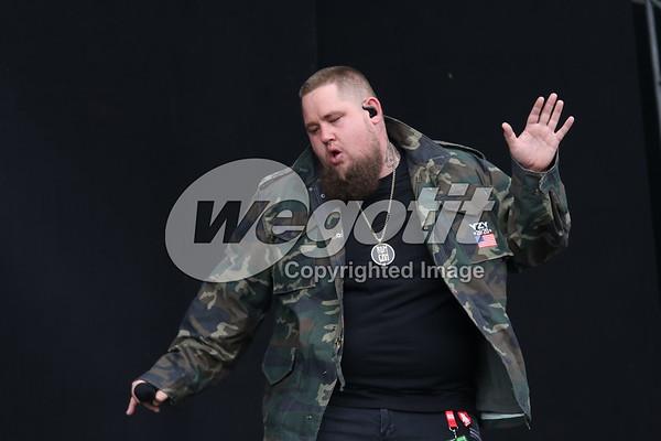 Rag 'N' Bone Man 17-JUN-2017 @ Nova Rock Festival, Nickelsdorf Austria © Thomas Zeidler