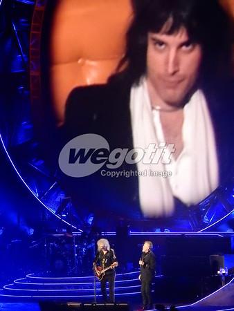 Queen + Adam Lambert 18-JAN-2015 @ O2 Arena , London, UK © Thomas Zeidler