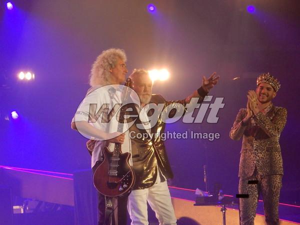 Queen + Adam Lambert 01-FEB-2015 @ Stadthalle, Vienna, Austria © Thomas Zeidler