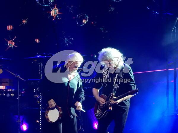 Queen + Adam Lambert 16-DEC-2017 @ Arena, Birminghman, UK © Thomas Zeidler