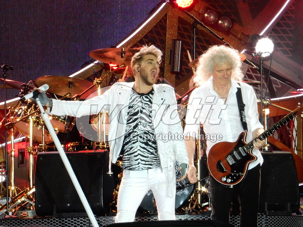 Queen + Adam Lambert 25-MAY-2016 @ Stadion, Linz, Austria © Thomas Zeidler