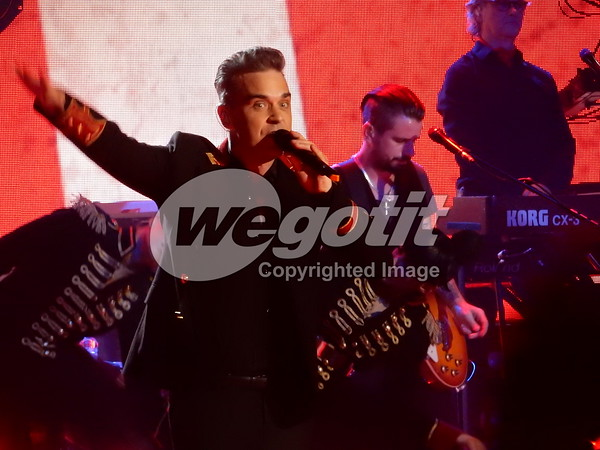 Robbie Williams 07-NOV-2016 @ The Troxy, London, England © Thomas Zeidler