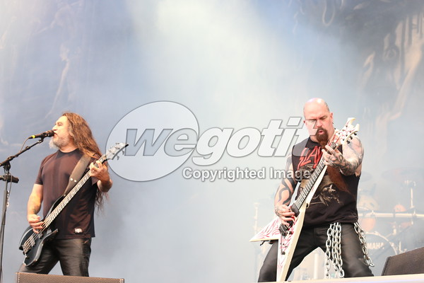 Slayer 03-JUN-2016 @ Rock In Vienna, Donauinsel, Wien, Austria © Thomas Zeidler