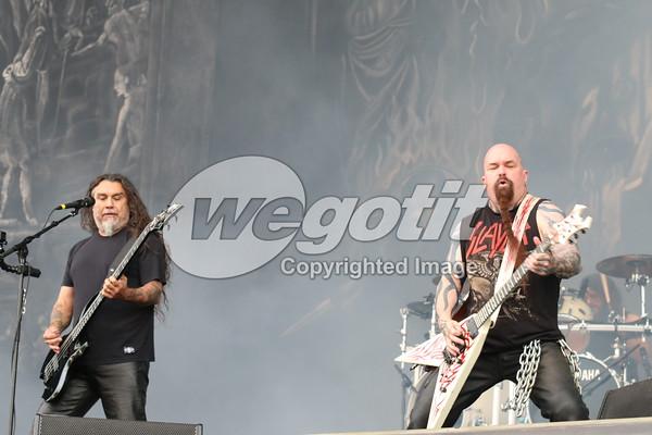 Slayer 03-JUN-2016 @ Rock In Vienna, Donauinsel, Wien, Austria © Thomas Zeidler