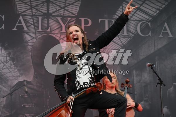 Apocalyptica 03-JUN-2016 @ Rock In Vienna, Donauinsel, Wien, Austria © Thomas Zeidler