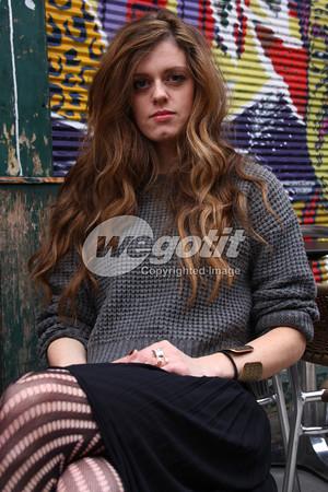 Sara Jackson-Holman  30-OCT-2013 @  Naschmarkt, Vienna, Austria © Thomas Zeidler