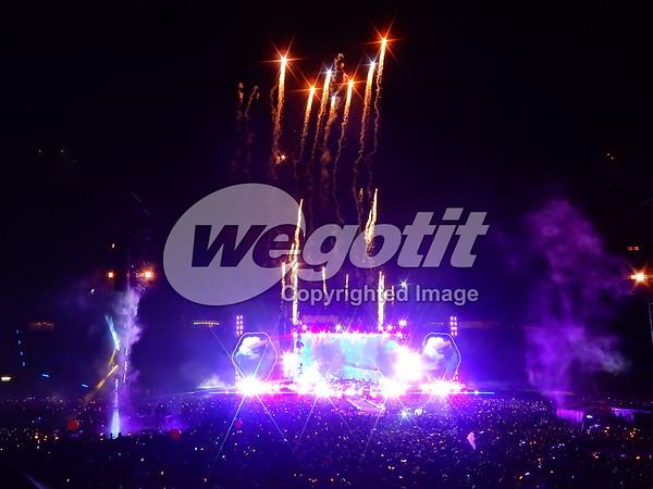 Coldplay 06-JUN-2017 @ Olympiastadion, Munich, Germany © Thomas Zeidler